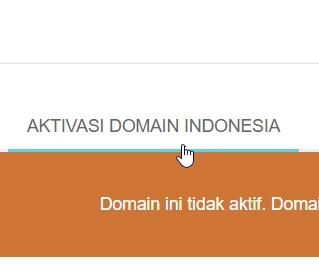 aktivasi domain indonesia
