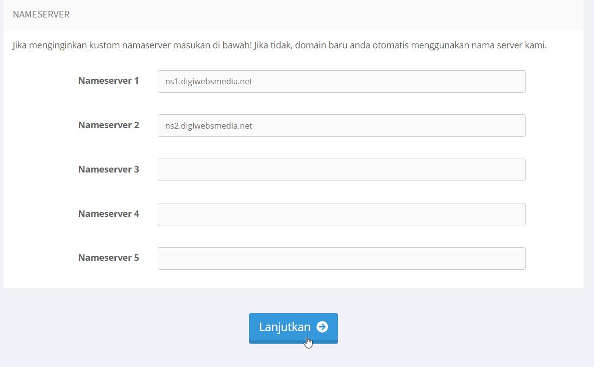 konfigurasi nameserver