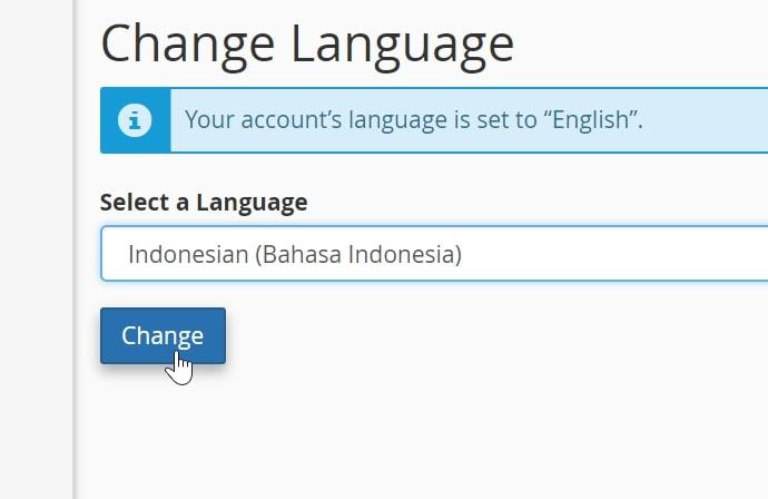 simpan pengaturan bahasa