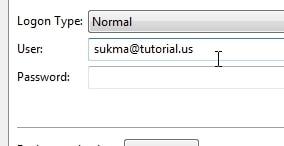 username FTP